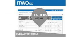 iTWO cx Bulk Update Tools For Tenders