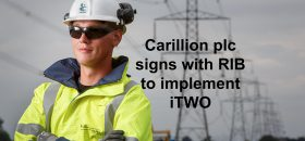 RIB Software signs large contract with Carillion plc, a leading British integrated support services and construction company