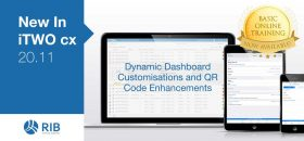 New in iTWO cx Dynamic Dashboard Customisations